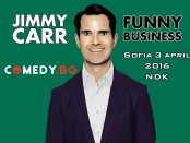 Stand up Jimmy Carr Bulgaria