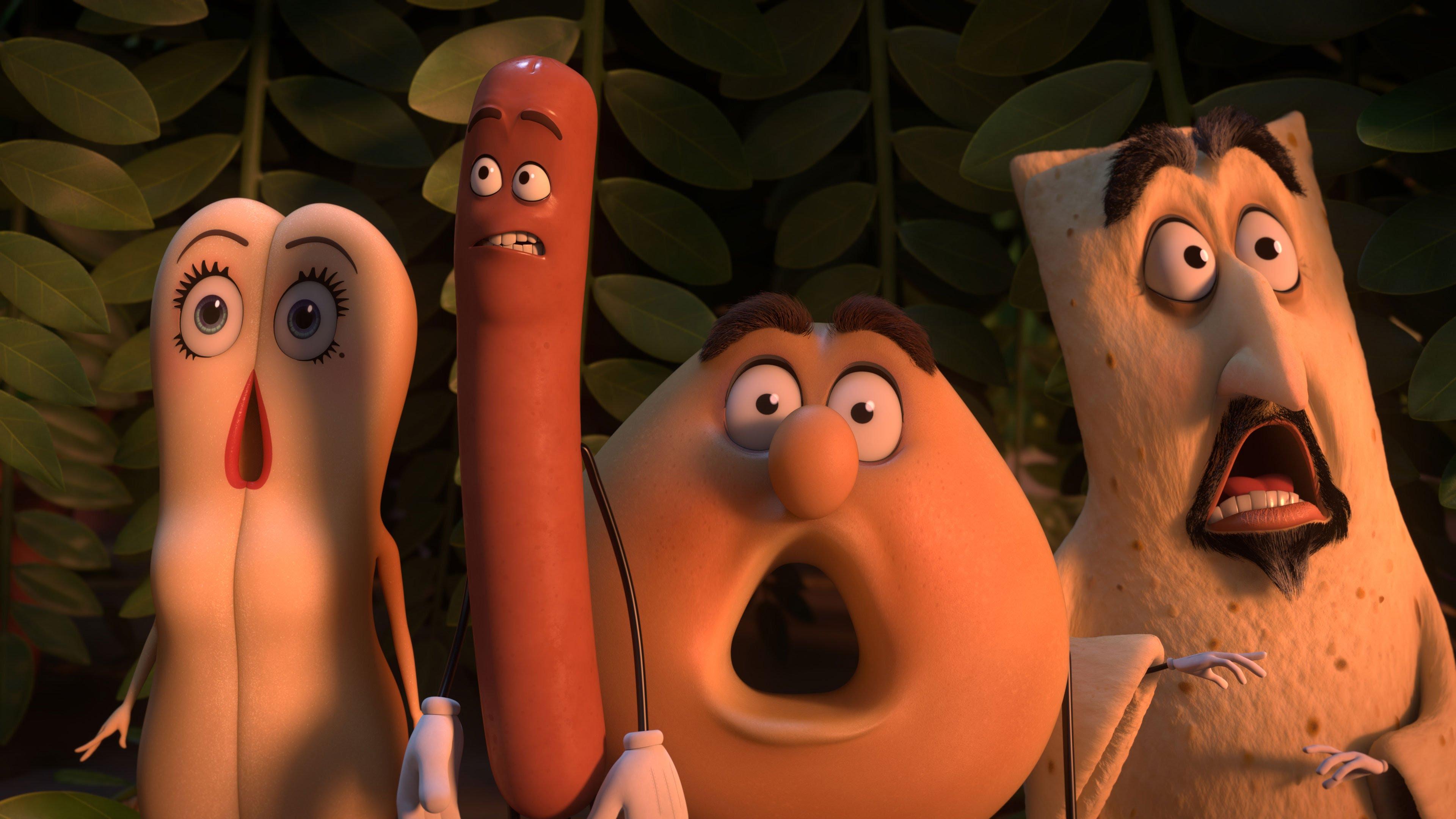 sausage party стендъп комедия сет роугън филм