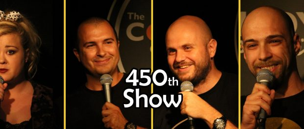 stand-up comedy in Bulgaria 450 shows at the club