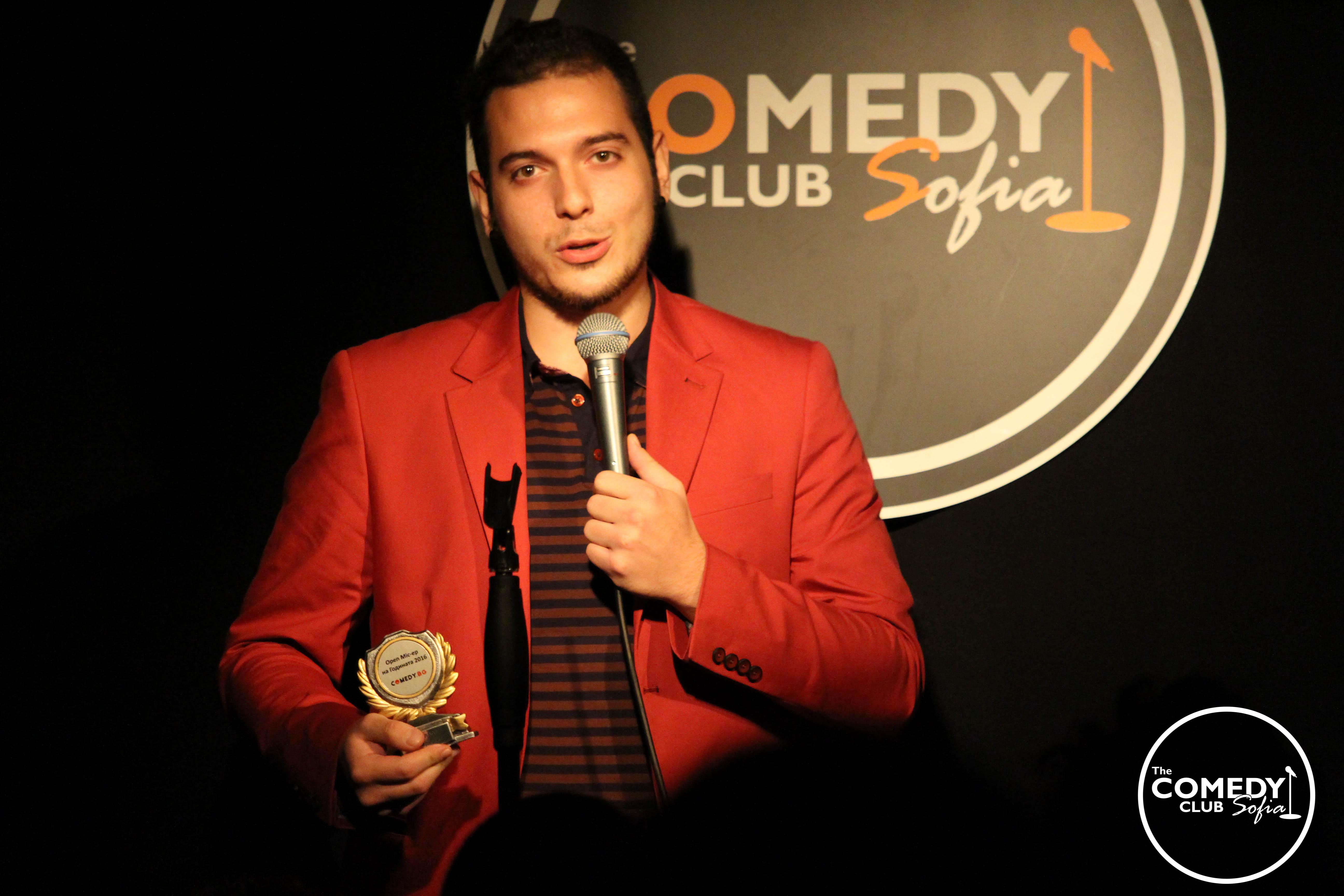 stand-up comedy Nikolaos