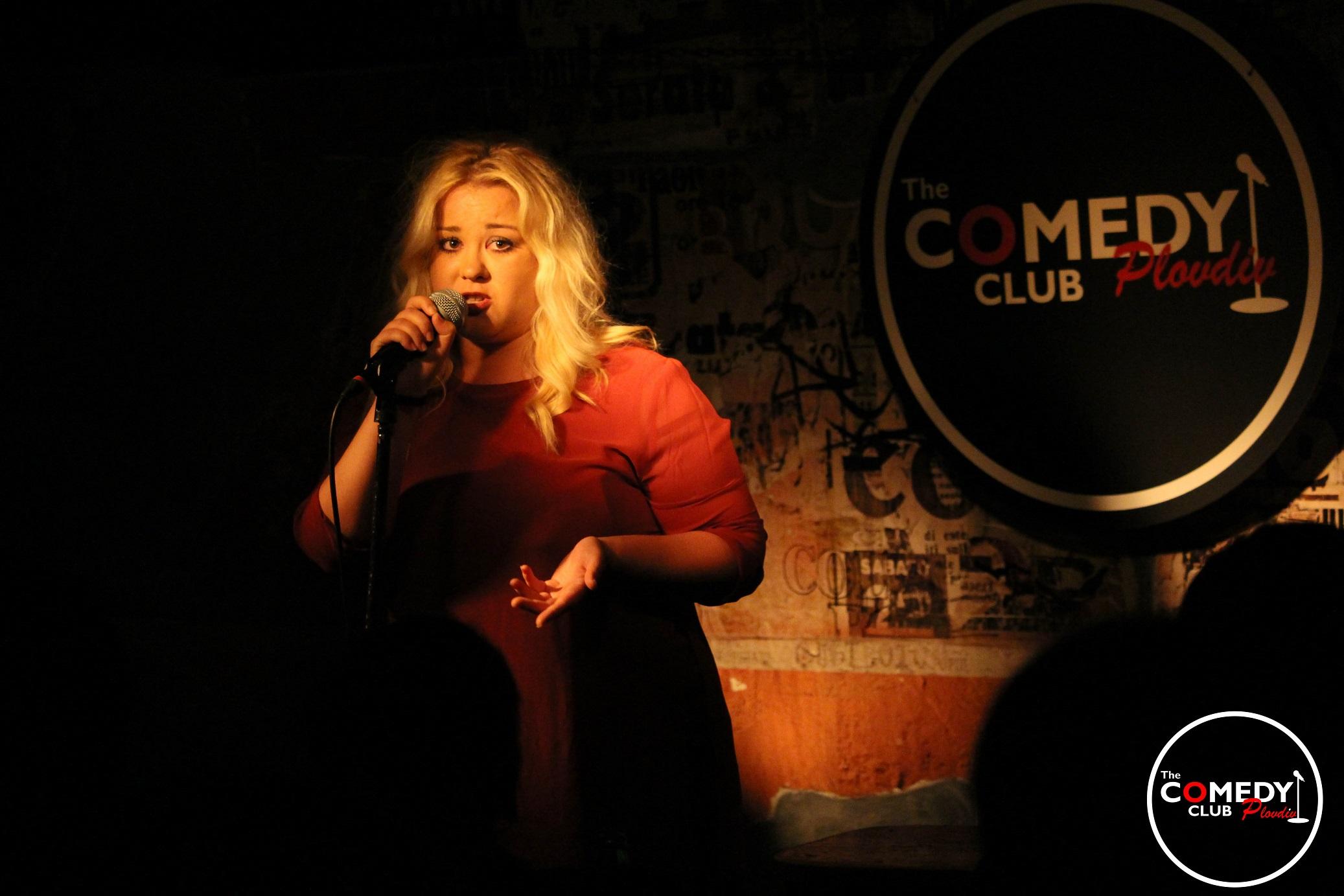 stand-up comedy Plovdiv Petya Kyupova