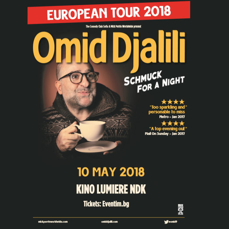 stand up comedy with Omid Djalili