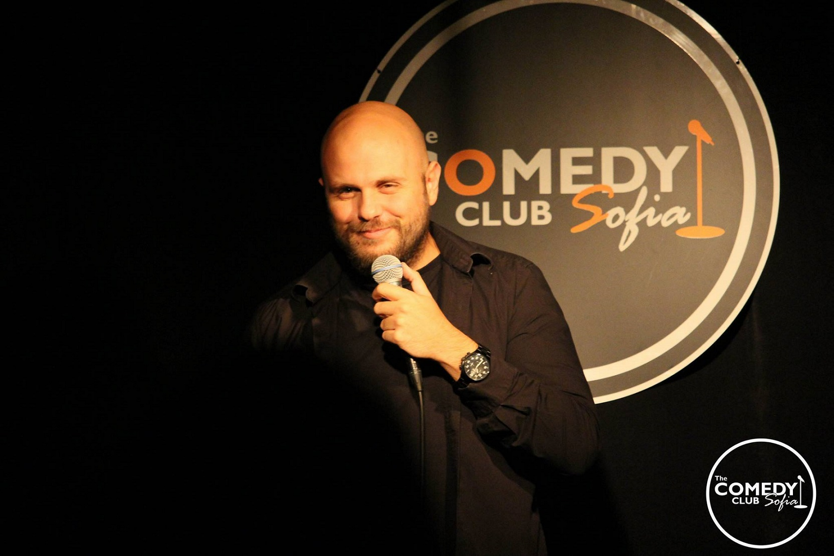 Ivan Kirkov stand-up comedy Bulgaria