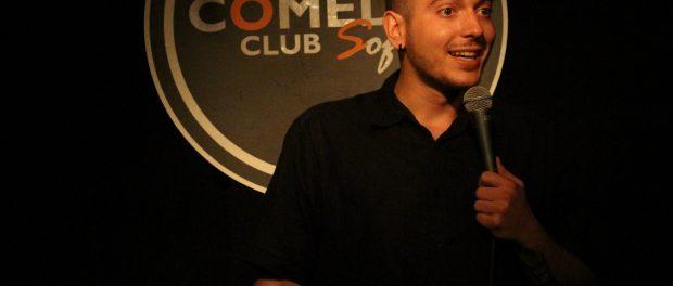 Nikolaos Stand up Comedy Sofia