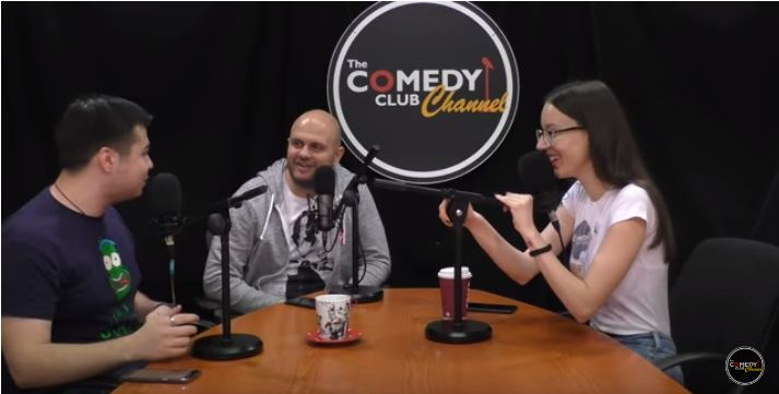 Комеди Клуб подкаст YouTube podcast The Comedy Club Channel stand up стендъп българия