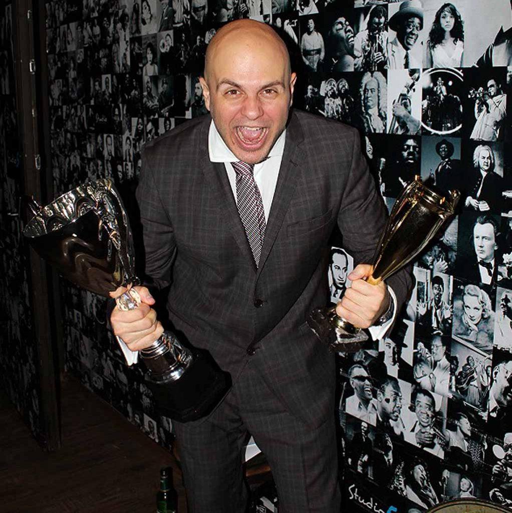 Иван Кирков с наградата Комедиант на Годината